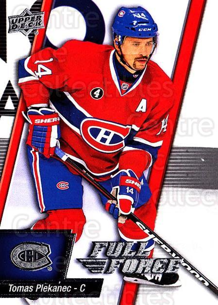 2015-16 Upper Deck Full Force #37 Tomas Plekanec<br/>2 In Stock - $1.00 each - <a href=https://centericecollectibles.foxycart.com/cart?name=2015-16%20Upper%20Deck%20Full%20Force%20%2337%20Tomas%20Plekanec...&quantity_max=2&price=$1.00&code=726776 class=foxycart> Buy it now! </a>