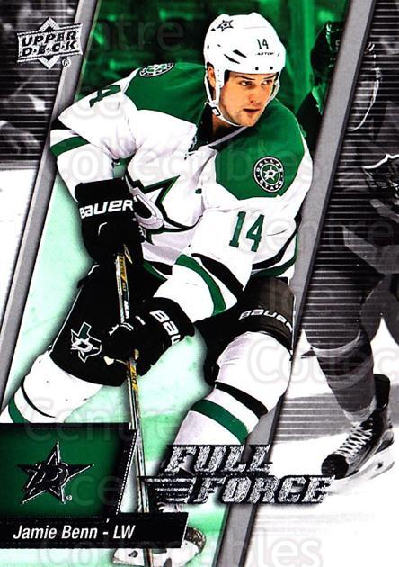 2015-16 Upper Deck Full Force #44 Jamie Benn<br/>2 In Stock - $1.00 each - <a href=https://centericecollectibles.foxycart.com/cart?name=2015-16%20Upper%20Deck%20Full%20Force%20%2344%20Jamie%20Benn...&quantity_max=2&price=$1.00&code=726783 class=foxycart> Buy it now! </a>