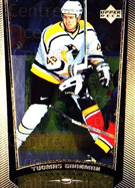 1998-99 Upper Deck Gold Reserve #163 Tuomas Gronman<br/>1 In Stock - $1.00 each - <a href=https://centericecollectibles.foxycart.com/cart?name=1998-99%20Upper%20Deck%20Gold%20Reserve%20%23163%20Tuomas%20Gronman...&quantity_max=1&price=$1.00&code=72678 class=foxycart> Buy it now! </a>