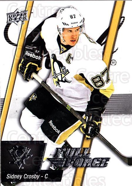 2015-16 Upper Deck Full Force #52 Sidney Crosby<br/>1 In Stock - $3.00 each - <a href=https://centericecollectibles.foxycart.com/cart?name=2015-16%20Upper%20Deck%20Full%20Force%20%2352%20Sidney%20Crosby...&quantity_max=1&price=$3.00&code=726791 class=foxycart> Buy it now! </a>