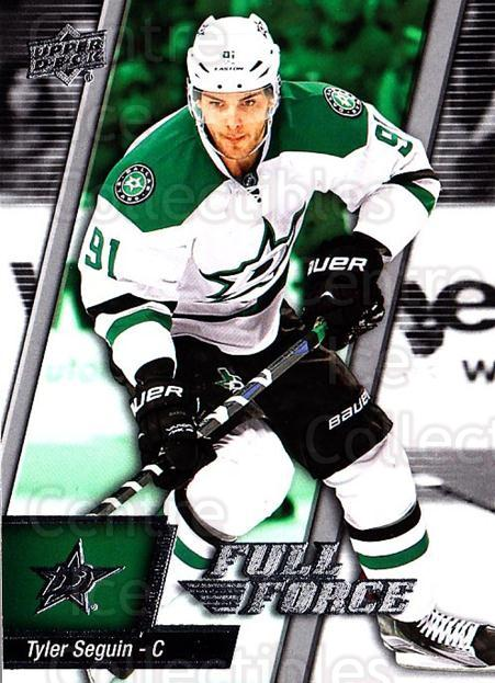 2015-16 Upper Deck Full Force #75 Tyler Seguin<br/>2 In Stock - $1.00 each - <a href=https://centericecollectibles.foxycart.com/cart?name=2015-16%20Upper%20Deck%20Full%20Force%20%2375%20Tyler%20Seguin...&quantity_max=2&price=$1.00&code=726814 class=foxycart> Buy it now! </a>