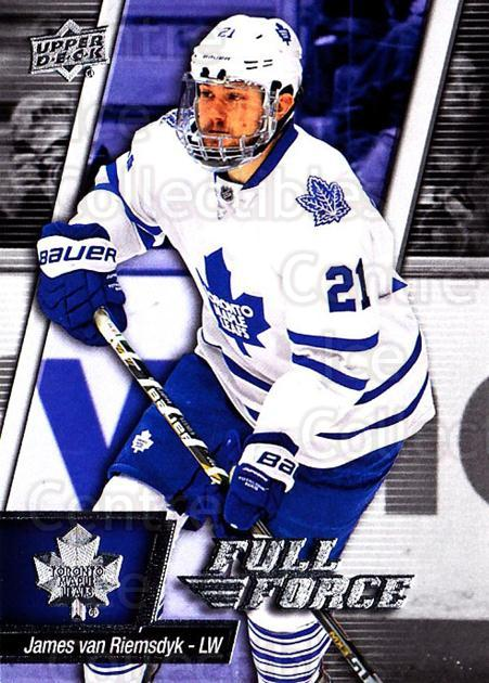 2015-16 Upper Deck Full Force #93 James van Riemsdyk<br/>2 In Stock - $1.00 each - <a href=https://centericecollectibles.foxycart.com/cart?name=2015-16%20Upper%20Deck%20Full%20Force%20%2393%20James%20van%20Riems...&quantity_max=2&price=$1.00&code=726832 class=foxycart> Buy it now! </a>