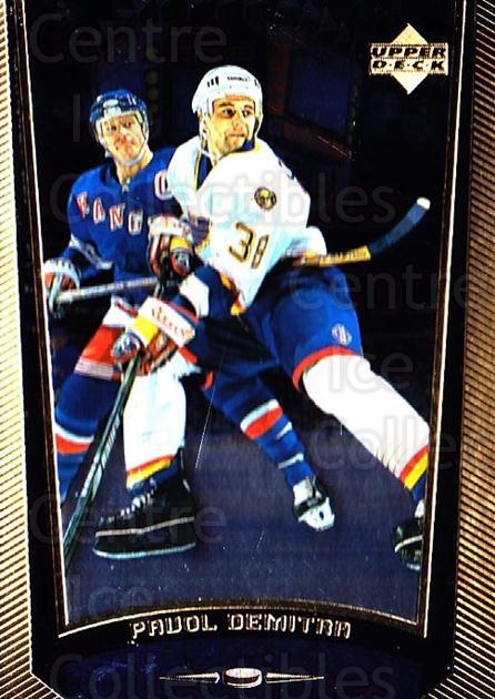 1998-99 Upper Deck Gold Reserve #173 Pavol Demitra<br/>2 In Stock - $1.00 each - <a href=https://centericecollectibles.foxycart.com/cart?name=1998-99%20Upper%20Deck%20Gold%20Reserve%20%23173%20Pavol%20Demitra...&quantity_max=2&price=$1.00&code=72687 class=foxycart> Buy it now! </a>