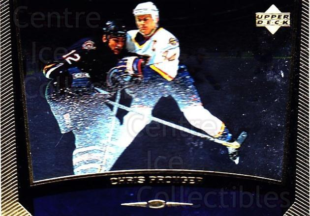 1998-99 Upper Deck Gold Reserve #174 Chris Pronger<br/>4 In Stock - $1.00 each - <a href=https://centericecollectibles.foxycart.com/cart?name=1998-99%20Upper%20Deck%20Gold%20Reserve%20%23174%20Chris%20Pronger...&quantity_max=4&price=$1.00&code=72688 class=foxycart> Buy it now! </a>
