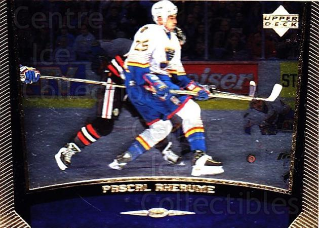 1998-99 Upper Deck Gold Reserve #175 Pascal Rheaume<br/>4 In Stock - $1.00 each - <a href=https://centericecollectibles.foxycart.com/cart?name=1998-99%20Upper%20Deck%20Gold%20Reserve%20%23175%20Pascal%20Rheaume...&quantity_max=4&price=$1.00&code=72689 class=foxycart> Buy it now! </a>