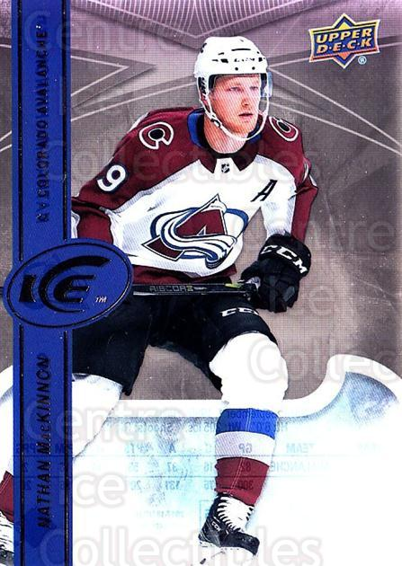 2017-18 UD Ice #5 Nathan MacKinnon<br/>4 In Stock - $5.00 each - <a href=https://centericecollectibles.foxycart.com/cart?name=2017-18%20UD%20Ice%20%235%20Nathan%20MacKinno...&quantity_max=4&price=$5.00&code=727032 class=foxycart> Buy it now! </a>
