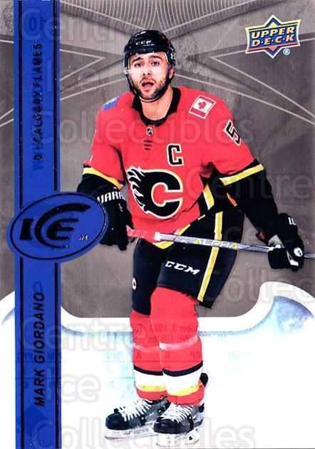 2017-18 UD Ice #10 Mark Giordano<br/>1 In Stock - $2.00 each - <a href=https://centericecollectibles.foxycart.com/cart?name=2017-18%20UD%20Ice%20%2310%20Mark%20Giordano...&quantity_max=1&price=$2.00&code=727037 class=foxycart> Buy it now! </a>