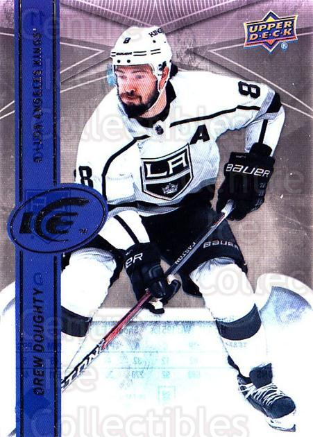 2017-18 UD Ice #11 Drew Doughty<br/>1 In Stock - $2.00 each - <a href=https://centericecollectibles.foxycart.com/cart?name=2017-18%20UD%20Ice%20%2311%20Drew%20Doughty...&quantity_max=1&price=$2.00&code=727038 class=foxycart> Buy it now! </a>
