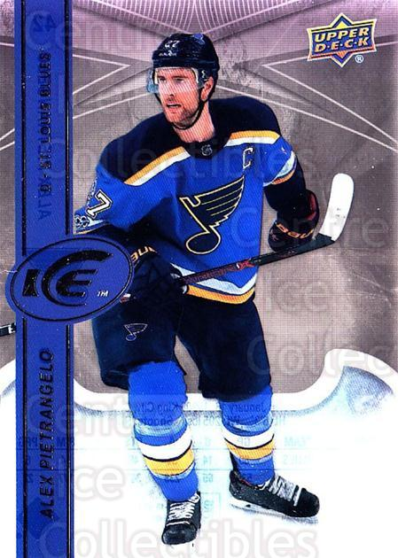 2017-18 UD Ice #42 Alex Pietrangelo<br/>4 In Stock - $2.00 each - <a href=https://centericecollectibles.foxycart.com/cart?name=2017-18%20UD%20Ice%20%2342%20Alex%20Pietrangel...&quantity_max=4&price=$2.00&code=727069 class=foxycart> Buy it now! </a>