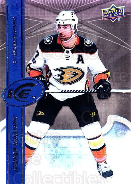 2017-18 UD Ice #44 Andrew Cogliano<br/>1 In Stock - $2.00 each - <a href=https://centericecollectibles.foxycart.com/cart?name=2017-18%20UD%20Ice%20%2344%20Andrew%20Cogliano...&quantity_max=1&price=$2.00&code=727071 class=foxycart> Buy it now! </a>