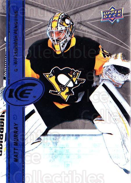 2017-18 UD Ice #47 Matt Murray<br/>1 In Stock - $3.00 each - <a href=https://centericecollectibles.foxycart.com/cart?name=2017-18%20UD%20Ice%20%2347%20Matt%20Murray...&quantity_max=1&price=$3.00&code=727074 class=foxycart> Buy it now! </a>