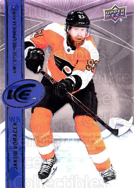 2017-18 UD Ice #61 Jakub Voracek<br/>5 In Stock - $2.00 each - <a href=https://centericecollectibles.foxycart.com/cart?name=2017-18%20UD%20Ice%20%2361%20Jakub%20Voracek...&quantity_max=5&price=$2.00&code=727088 class=foxycart> Buy it now! </a>