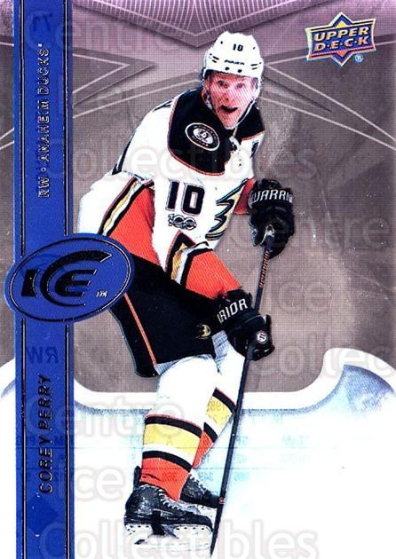 2017-18 UD Ice #71 Corey Perry<br/>3 In Stock - $2.00 each - <a href=https://centericecollectibles.foxycart.com/cart?name=2017-18%20UD%20Ice%20%2371%20Corey%20Perry...&quantity_max=3&price=$2.00&code=727098 class=foxycart> Buy it now! </a>