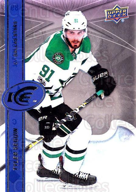 2017-18 UD Ice #89 Tyler Seguin<br/>2 In Stock - $3.00 each - <a href=https://centericecollectibles.foxycart.com/cart?name=2017-18%20UD%20Ice%20%2389%20Tyler%20Seguin...&quantity_max=2&price=$3.00&code=727116 class=foxycart> Buy it now! </a>