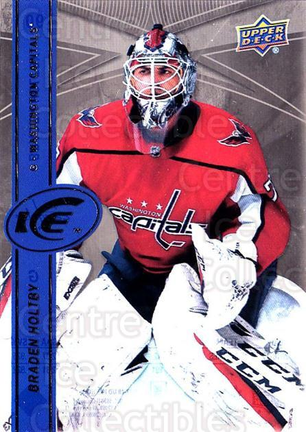 2017-18 UD Ice #90 Braden Holtby<br/>3 In Stock - $2.00 each - <a href=https://centericecollectibles.foxycart.com/cart?name=2017-18%20UD%20Ice%20%2390%20Braden%20Holtby...&quantity_max=3&price=$2.00&code=727117 class=foxycart> Buy it now! </a>
