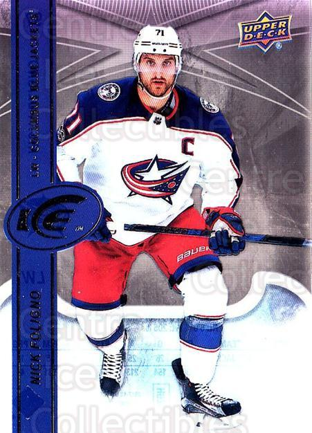 2017-18 UD Ice #97 Nick Foligno<br/>2 In Stock - $2.00 each - <a href=https://centericecollectibles.foxycart.com/cart?name=2017-18%20UD%20Ice%20%2397%20Nick%20Foligno...&quantity_max=2&price=$2.00&code=727124 class=foxycart> Buy it now! </a>