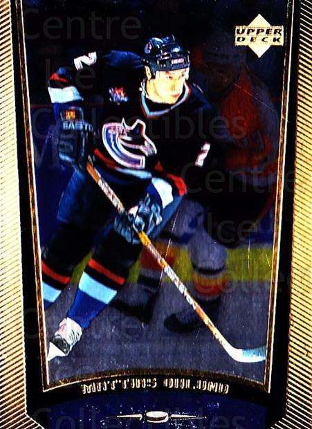 1998-99 Upper Deck Gold Reserve #197 Mattias Ohlund<br/>4 In Stock - $1.00 each - <a href=https://centericecollectibles.foxycart.com/cart?name=1998-99%20Upper%20Deck%20Gold%20Reserve%20%23197%20Mattias%20Ohlund...&quantity_max=4&price=$1.00&code=72713 class=foxycart> Buy it now! </a>