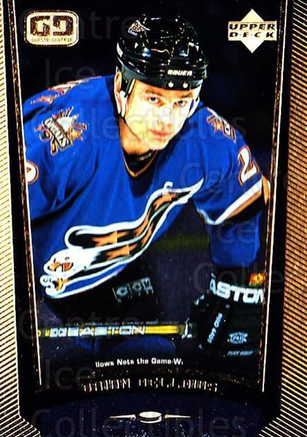 1998-99 Upper Deck Gold Reserve #204 Brian Bellows<br/>3 In Stock - $1.00 each - <a href=https://centericecollectibles.foxycart.com/cart?name=1998-99%20Upper%20Deck%20Gold%20Reserve%20%23204%20Brian%20Bellows...&quantity_max=3&price=$1.00&code=72722 class=foxycart> Buy it now! </a>