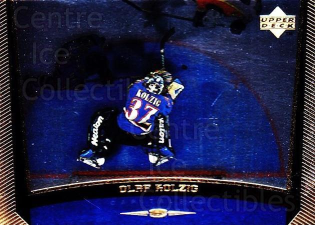 1998-99 Upper Deck Gold Reserve #205 Olaf Kolzig<br/>3 In Stock - $1.00 each - <a href=https://centericecollectibles.foxycart.com/cart?name=1998-99%20Upper%20Deck%20Gold%20Reserve%20%23205%20Olaf%20Kolzig...&quantity_max=3&price=$1.00&code=72723 class=foxycart> Buy it now! </a>