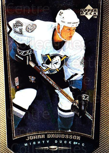 1998-99 Upper Deck Gold Reserve #211 Johan Davidsson<br/>5 In Stock - $1.00 each - <a href=https://centericecollectibles.foxycart.com/cart?name=1998-99%20Upper%20Deck%20Gold%20Reserve%20%23211%20Johan%20Davidsson...&quantity_max=5&price=$1.00&code=72727 class=foxycart> Buy it now! </a>