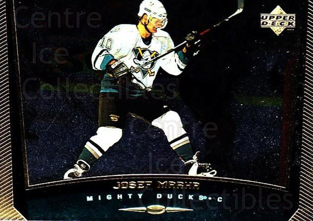 1998-99 Upper Deck Gold Reserve #216 Josef Marha<br/>6 In Stock - $1.00 each - <a href=https://centericecollectibles.foxycart.com/cart?name=1998-99%20Upper%20Deck%20Gold%20Reserve%20%23216%20Josef%20Marha...&quantity_max=6&price=$1.00&code=72732 class=foxycart> Buy it now! </a>