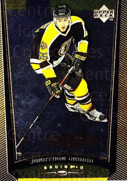 1998-99 Upper Deck Gold Reserve #222 Jonathan Girard<br/>6 In Stock - $1.00 each - <a href=https://centericecollectibles.foxycart.com/cart?name=1998-99%20Upper%20Deck%20Gold%20Reserve%20%23222%20Jonathan%20Girard...&quantity_max=6&price=$1.00&code=72738 class=foxycart> Buy it now! </a>