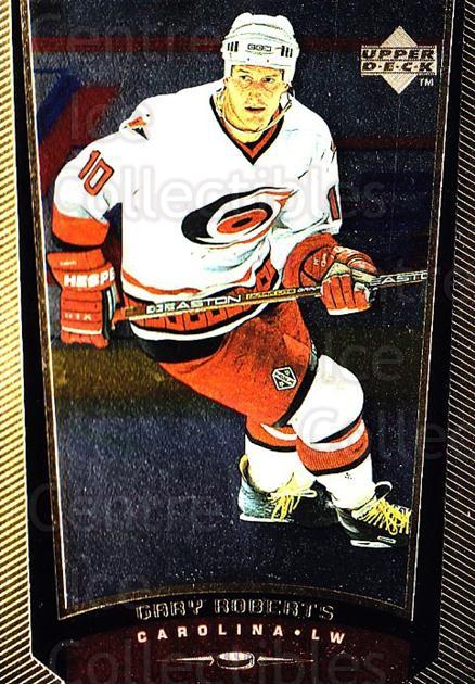 1998-99 Upper Deck Gold Reserve #236 Gary Roberts<br/>3 In Stock - $1.00 each - <a href=https://centericecollectibles.foxycart.com/cart?name=1998-99%20Upper%20Deck%20Gold%20Reserve%20%23236%20Gary%20Roberts...&quantity_max=3&price=$1.00&code=72749 class=foxycart> Buy it now! </a>