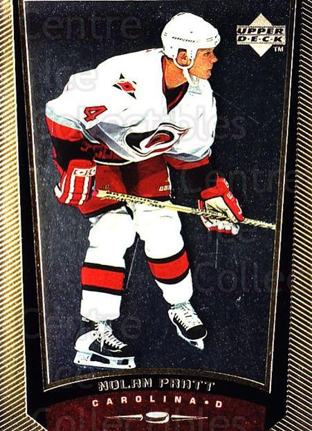 1998-99 Upper Deck Gold Reserve #239 Nolan Pratt<br/>2 In Stock - $1.00 each - <a href=https://centericecollectibles.foxycart.com/cart?name=1998-99%20Upper%20Deck%20Gold%20Reserve%20%23239%20Nolan%20Pratt...&quantity_max=2&price=$1.00&code=72752 class=foxycart> Buy it now! </a>