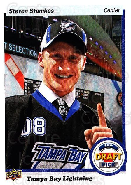 2018 Upper Deck Top Draft Pick #42 Steven Stamkos<br/>5 In Stock - $3.00 each - <a href=https://centericecollectibles.foxycart.com/cart?name=2018%20Upper%20Deck%20Top%20Draft%20Pick%20%2342%20Steven%20Stamkos...&quantity_max=5&price=$3.00&code=728013 class=foxycart> Buy it now! </a>
