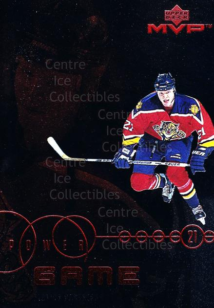 1998-99 Upper Deck MVP Power Game #12 Mark Parrish<br/>10 In Stock - $2.00 each - <a href=https://centericecollectibles.foxycart.com/cart?name=1998-99%20Upper%20Deck%20MVP%20Power%20Game%20%2312%20Mark%20Parrish...&quantity_max=10&price=$2.00&code=72806 class=foxycart> Buy it now! </a>