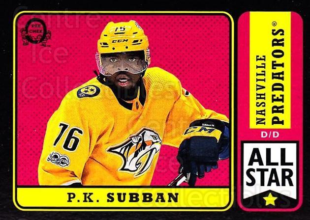 2018-19 O-Pee-Chee Retro Black #23 PK Subban<br/>2 In Stock - $5.00 each - <a href=https://centericecollectibles.foxycart.com/cart?name=2018-19%20O-Pee-Chee%20Retro%20Black%20%2323%20PK%20Subban...&quantity_max=2&price=$5.00&code=728092 class=foxycart> Buy it now! </a>