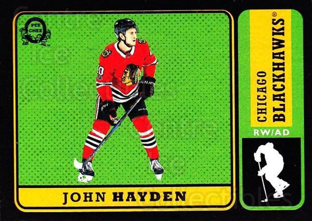 2018-19 O-Pee-Chee Retro Black #52 John Hayden<br/>5 In Stock - $5.00 each - <a href=https://centericecollectibles.foxycart.com/cart?name=2018-19%20O-Pee-Chee%20Retro%20Black%20%2352%20John%20Hayden...&quantity_max=5&price=$5.00&code=728121 class=foxycart> Buy it now! </a>