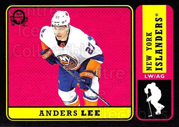 2018-19 O-Pee-Chee Retro Black #67 Anders Lee<br/>4 In Stock - $5.00 each - <a href=https://centericecollectibles.foxycart.com/cart?name=2018-19%20O-Pee-Chee%20Retro%20Black%20%2367%20Anders%20Lee...&quantity_max=4&price=$5.00&code=728136 class=foxycart> Buy it now! </a>