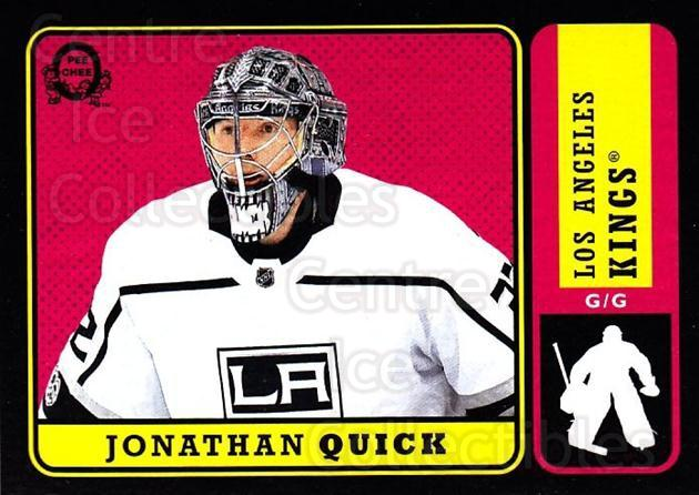 2018-19 O-Pee-Chee Retro Black #103 Jonathan Quick<br/>1 In Stock - $5.00 each - <a href=https://centericecollectibles.foxycart.com/cart?name=2018-19%20O-Pee-Chee%20Retro%20Black%20%23103%20Jonathan%20Quick...&quantity_max=1&price=$5.00&code=728172 class=foxycart> Buy it now! </a>