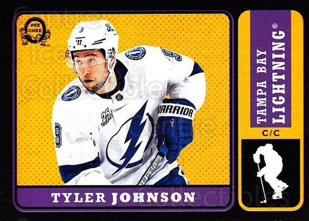 2018-19 O-Pee-Chee Retro Black #130 Tyler Johnson<br/>1 In Stock - $5.00 each - <a href=https://centericecollectibles.foxycart.com/cart?name=2018-19%20O-Pee-Chee%20Retro%20Black%20%23130%20Tyler%20Johnson...&quantity_max=1&price=$5.00&code=728199 class=foxycart> Buy it now! </a>
