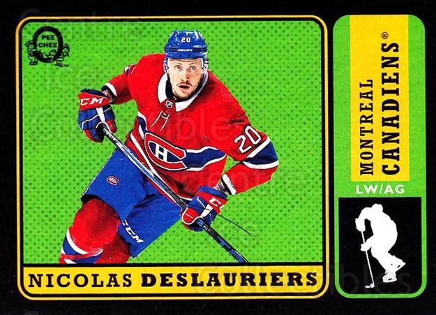 2018-19 O-Pee-Chee Retro Black #208 Nicolas Deslauriers<br/>1 In Stock - $5.00 each - <a href=https://centericecollectibles.foxycart.com/cart?name=2018-19%20O-Pee-Chee%20Retro%20Black%20%23208%20Nicolas%20Deslaur...&quantity_max=1&price=$5.00&code=728277 class=foxycart> Buy it now! </a>