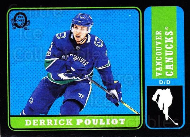 2018-19 O-Pee-Chee Retro Black #237 Derrick Pouliot<br/>2 In Stock - $5.00 each - <a href=https://centericecollectibles.foxycart.com/cart?name=2018-19%20O-Pee-Chee%20Retro%20Black%20%23237%20Derrick%20Pouliot...&quantity_max=2&price=$5.00&code=728306 class=foxycart> Buy it now! </a>