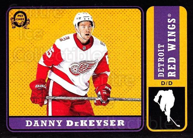 2018-19 O-Pee-Chee Retro Black #254 Danny DeKeyser<br/>1 In Stock - $5.00 each - <a href=https://centericecollectibles.foxycart.com/cart?name=2018-19%20O-Pee-Chee%20Retro%20Black%20%23254%20Danny%20DeKeyser...&quantity_max=1&price=$5.00&code=728323 class=foxycart> Buy it now! </a>