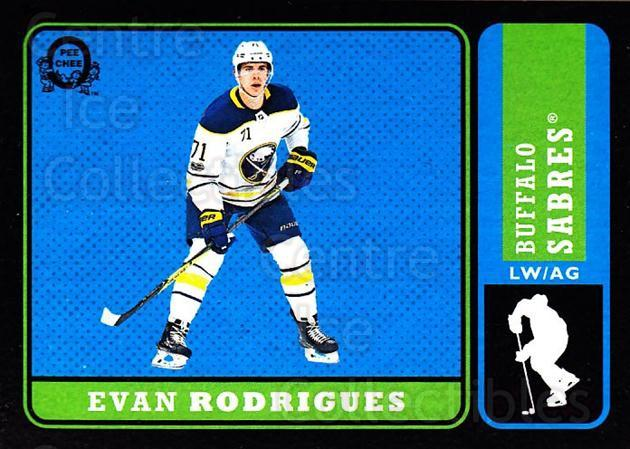 2018-19 O-Pee-Chee Retro Black #293 Evan Rodrigues<br/>2 In Stock - $5.00 each - <a href=https://centericecollectibles.foxycart.com/cart?name=2018-19%20O-Pee-Chee%20Retro%20Black%20%23293%20Evan%20Rodrigues...&quantity_max=2&price=$5.00&code=728362 class=foxycart> Buy it now! </a>