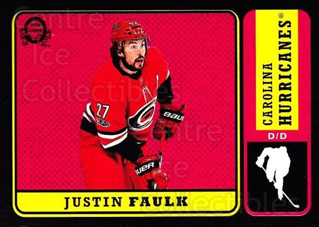 2018-19 O-Pee-Chee Retro Black #295 Justin Faulk<br/>1 In Stock - $5.00 each - <a href=https://centericecollectibles.foxycart.com/cart?name=2018-19%20O-Pee-Chee%20Retro%20Black%20%23295%20Justin%20Faulk...&quantity_max=1&price=$5.00&code=728364 class=foxycart> Buy it now! </a>