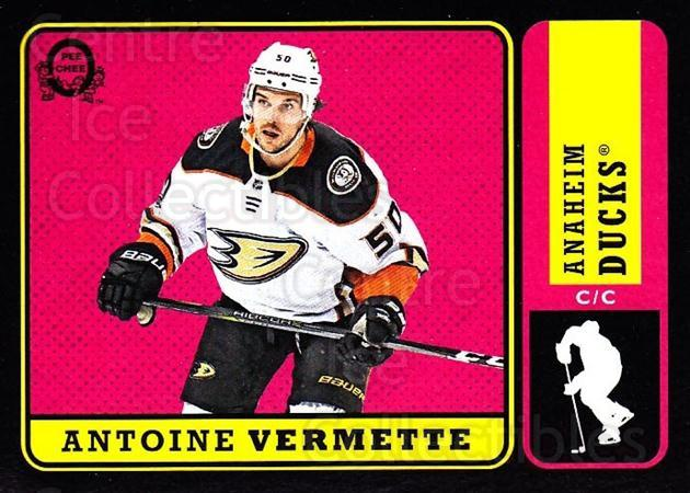 2018-19 O-Pee-Chee Retro Black #307 Antoine Vermette<br/>2 In Stock - $5.00 each - <a href=https://centericecollectibles.foxycart.com/cart?name=2018-19%20O-Pee-Chee%20Retro%20Black%20%23307%20Antoine%20Vermett...&quantity_max=2&price=$5.00&code=728376 class=foxycart> Buy it now! </a>