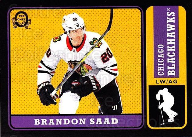 2018-19 O-Pee-Chee Retro Black #386 Brandon Saad<br/>1 In Stock - $5.00 each - <a href=https://centericecollectibles.foxycart.com/cart?name=2018-19%20O-Pee-Chee%20Retro%20Black%20%23386%20Brandon%20Saad...&quantity_max=1&price=$5.00&code=728455 class=foxycart> Buy it now! </a>