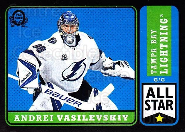 2018-19 O-Pee-Chee Retro Black #389 Andrei Vasilevskiy<br/>1 In Stock - $5.00 each - <a href=https://centericecollectibles.foxycart.com/cart?name=2018-19%20O-Pee-Chee%20Retro%20Black%20%23389%20Andrei%20Vasilevs...&quantity_max=1&price=$5.00&code=728458 class=foxycart> Buy it now! </a>