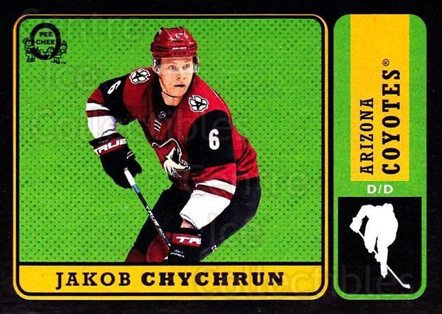 2018-19 O-Pee-Chee Retro Black #412 Jakob Chychrun<br/>1 In Stock - $5.00 each - <a href=https://centericecollectibles.foxycart.com/cart?name=2018-19%20O-Pee-Chee%20Retro%20Black%20%23412%20Jakob%20Chychrun...&quantity_max=1&price=$5.00&code=728481 class=foxycart> Buy it now! </a>