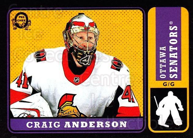 2018-19 O-Pee-Chee Retro Black #426 Craig Anderson<br/>2 In Stock - $5.00 each - <a href=https://centericecollectibles.foxycart.com/cart?name=2018-19%20O-Pee-Chee%20Retro%20Black%20%23426%20Craig%20Anderson...&quantity_max=2&price=$5.00&code=728495 class=foxycart> Buy it now! </a>
