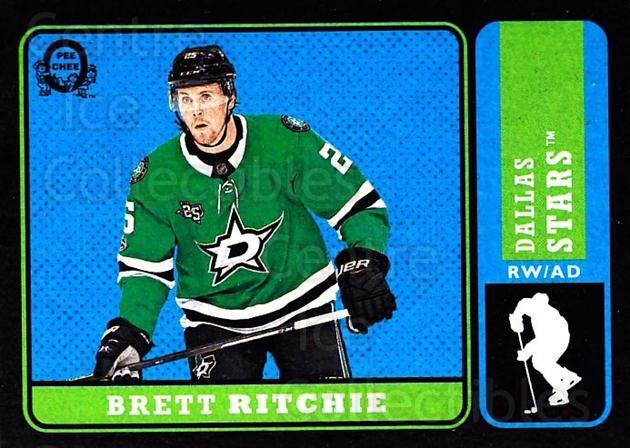 2018-19 O-Pee-Chee Retro Black #441 Brett Ritchie<br/>3 In Stock - $5.00 each - <a href=https://centericecollectibles.foxycart.com/cart?name=2018-19%20O-Pee-Chee%20Retro%20Black%20%23441%20Brett%20Ritchie...&quantity_max=3&price=$5.00&code=728510 class=foxycart> Buy it now! </a>
