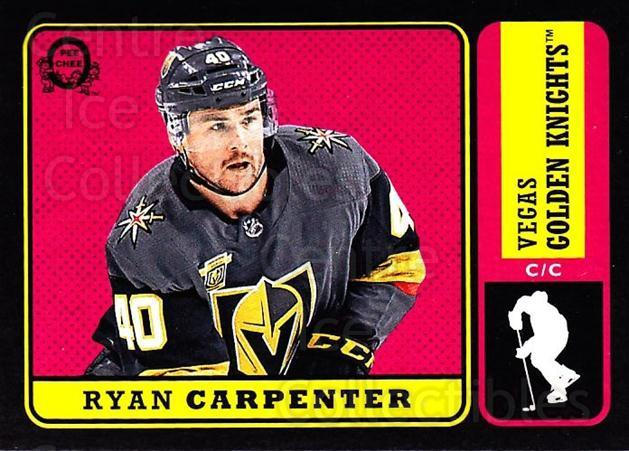 2018-19 O-Pee-Chee Retro Black #459 Ryan Carpenter<br/>1 In Stock - $5.00 each - <a href=https://centericecollectibles.foxycart.com/cart?name=2018-19%20O-Pee-Chee%20Retro%20Black%20%23459%20Ryan%20Carpenter...&quantity_max=1&price=$5.00&code=728528 class=foxycart> Buy it now! </a>