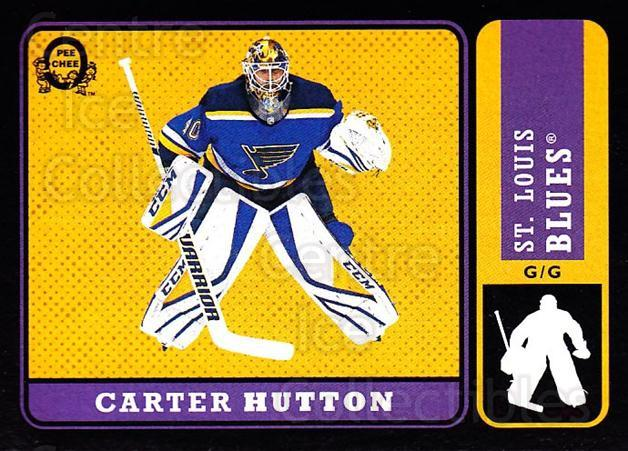 2018-19 O-Pee-Chee Retro Black #462 Carter Hutton<br/>1 In Stock - $5.00 each - <a href=https://centericecollectibles.foxycart.com/cart?name=2018-19%20O-Pee-Chee%20Retro%20Black%20%23462%20Carter%20Hutton...&quantity_max=1&price=$5.00&code=728531 class=foxycart> Buy it now! </a>