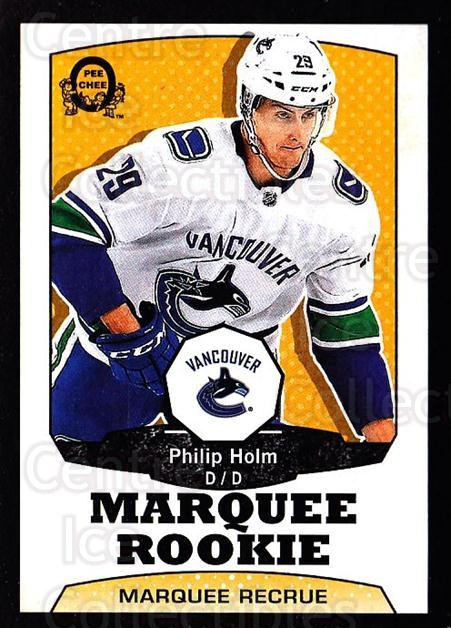 2018-19 O-Pee-Chee Retro Black #518 Philip Holm<br/>3 In Stock - $5.00 each - <a href=https://centericecollectibles.foxycart.com/cart?name=2018-19%20O-Pee-Chee%20Retro%20Black%20%23518%20Philip%20Holm...&quantity_max=3&price=$5.00&code=728587 class=foxycart> Buy it now! </a>