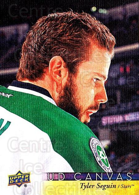 2017-18 Upper Deck Canvas #29 Tyler Seguin<br/>1 In Stock - $2.00 each - <a href=https://centericecollectibles.foxycart.com/cart?name=2017-18%20Upper%20Deck%20Canvas%20%2329%20Tyler%20Seguin...&quantity_max=1&price=$2.00&code=728698 class=foxycart> Buy it now! </a>